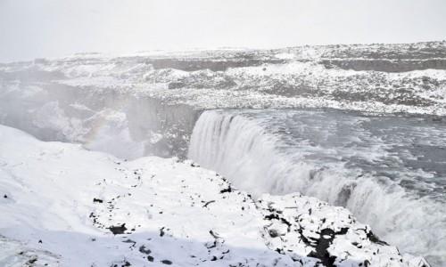 Zdjecie ISLANDIA / Islandia północna / Dettifoss / Wodospad Dettifoss