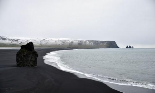 ISLANDIA / Dyrholaey / Dyrholaey / Plaża Reynisfjara