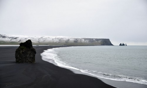 Zdjecie ISLANDIA / Dyrholaey / Dyrholaey / Plaża Reynisfjara