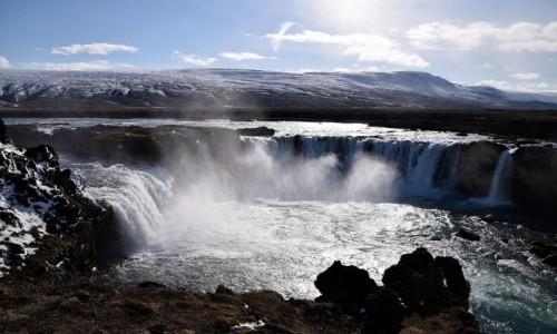 Zdjecie ISLANDIA / Islandia Północna / Godafoss / Godafoss