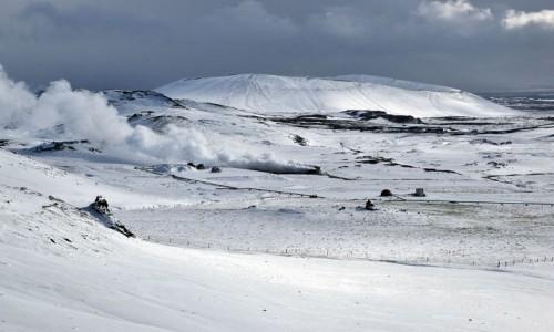 ISLANDIA / Islandia północna / Myvatn / okolice jeziora Myvatn