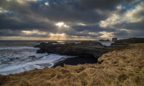ISLANDIA / Islandia południowa / Vik / zimowa Islandia