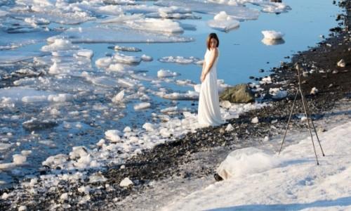 Zdjecie ISLANDIA / Islandia południowa / Jokulsarlon / Chińska królowa lodu