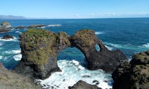 Zdjęcie ISLANDIA / Arnarstapi / . / Rzeźby natury