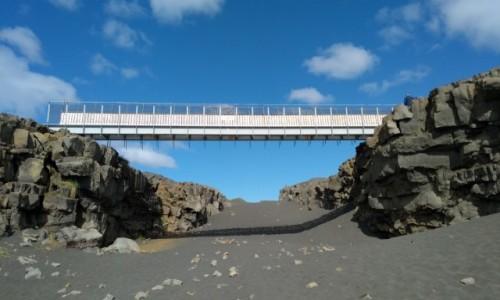 Zdjęcie ISLANDIA / Reykjanes / . / Most międzykontynentalny