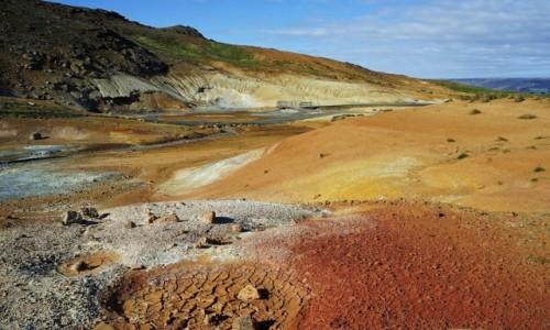 ISLANDIA / Seltun / . / Paleta barw