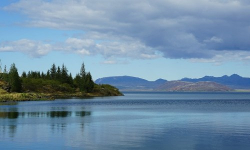Zdjęcie ISLANDIA / Skalholt / . / Nad jeziorem