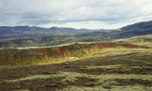 Zdjecie ISLANDIA / Reykjavik / Lyngdalsheidi / Po drodze