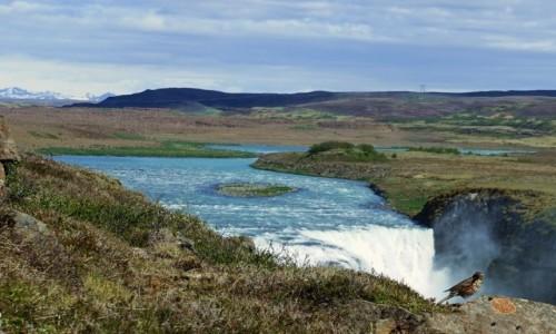 Zdjecie ISLANDIA / Kanyon na rzece Hvíta / Gullfoss / Nad wodospadem