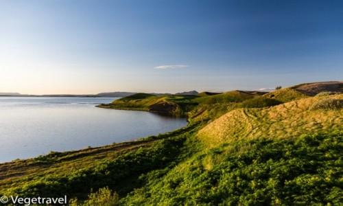 Zdjecie ISLANDIA / Myvatn / Islandia / Jezioro Myvatn
