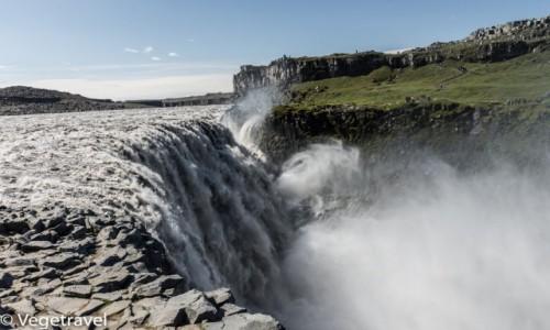 Zdjecie ISLANDIA / północno-wschodnia Islandia / Dettifoss / Wodospad Dettifoss