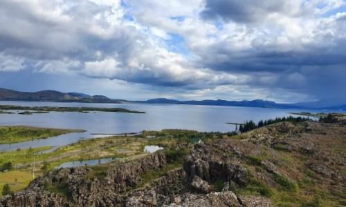 Zdjecie ISLANDIA / Golden Circle / Jezioro / Þingvallavatn