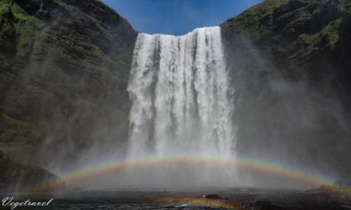 Zdjecie ISLANDIA / Seljalandsfoss / Wodospad Seljalandsfoss / Wodospad Seljalandsfoss