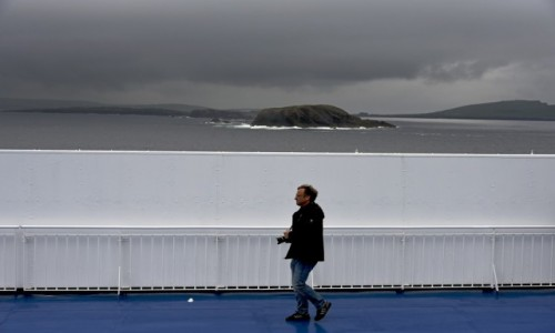 Zdjecie ISLANDIA / Islandia / Wyspy Owcze / Statek