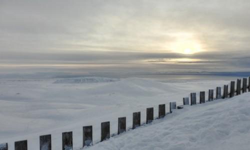 Zdjecie ISLANDIA / Reykjavik / Bláfjöll / Islandia Zimą