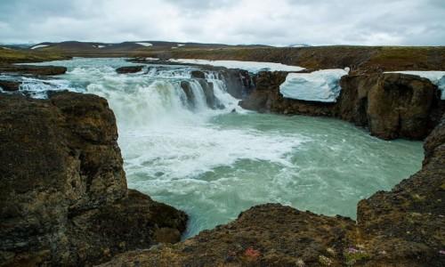 ISLANDIA / Poludnie wyspy / Wodospad Gygiarfoss / Wodospad Gygiarfoss