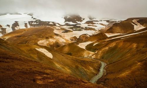 Zdjecie ISLANDIA / Poludnie wyspy / Region geotermalny Kerlingarfjoll / Kolorowe góry