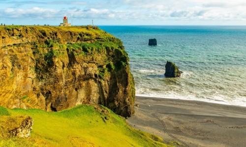 Zdjecie ISLANDIA / Poludnie wyspy / Cypel Dyrholaey / Cypel Dyrhólaey
