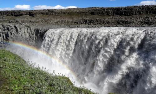 Zdjecie ISLANDIA / Południowy wschód / Rzeka Jökulsá á Fjöllum  / Dettifoss - ogromne wrażenie