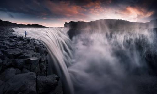 ISLANDIA / Islandia / Wodospad Dettifoss / Dettifoss