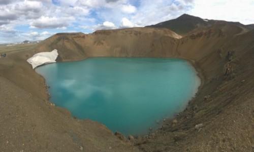 Zdjecie ISLANDIA / - / Wulkan Krafla / krater