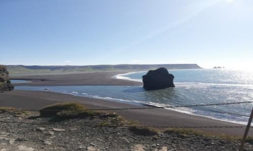 Zdjecie ISLANDIA / - / Vik / czarna plaża