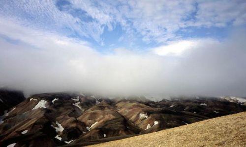 ISLANDIA / Landmannalaugar / Islandia / Widok z Brenninsteinsalda