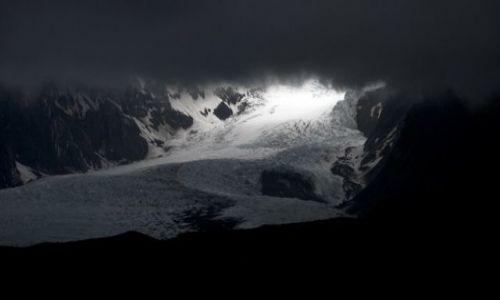 Zdjecie ISLANDIA / brak / Kvisker / Desz,chmury i lodowiec...