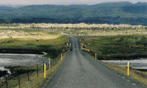 Zdjecie ISLANDIA / brak / droga w stronę Skaftafell / do Nikąd