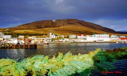 Zdjecie ISLANDIA / Polnocna Islandia / Husavik / Port w Husaviku
