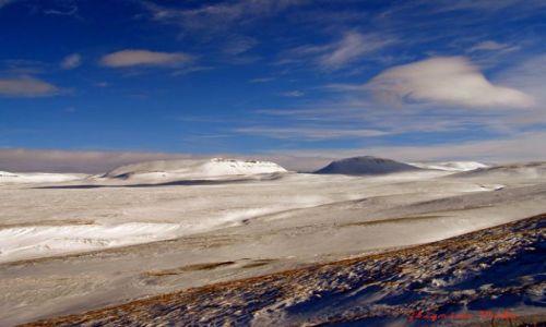 Zdjecie ISLANDIA / Polnocna Islandia / Husavik / Husavik zima