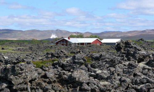 Zdjecie ISLANDIA / Północna Islandia / Okolice j. Myvatn / Pole lawy