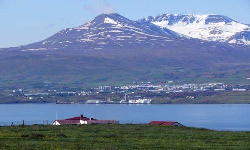 Zdjecie ISLANDIA / Północna Islandia / Fiord Eyjafjóur / Akureyri