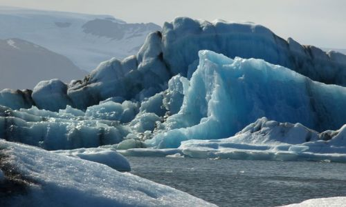Zdjecie ISLANDIA / Jokulsarlon / Islandia / Lodowa laguna w