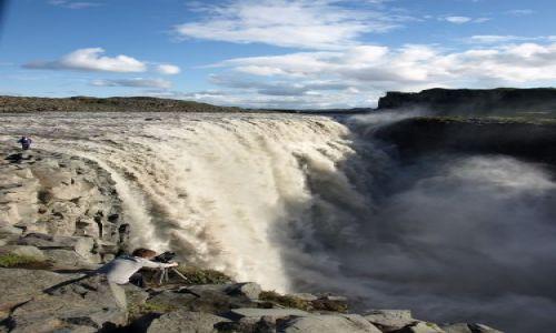 Zdjecie ISLANDIA / brak / Islandia / Wodospad Dettifoss  - 500 m3 wody na sekundę !!