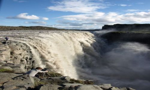 Zdjecie ISLANDIA / brak / Islandia / Wodospad Dettif