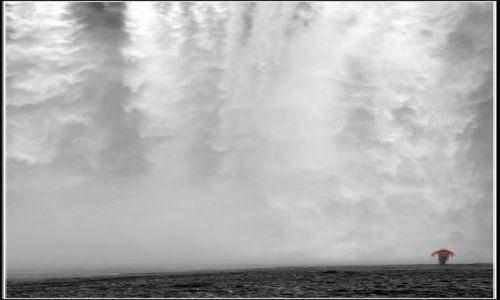 Zdjecie ISLANDIA / Islandia poludiowo zachodnia / Skogar / Potega natury