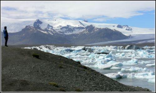 Zdjęcie ISLANDIA / Islandia poludiowa / Laguna lodowcowa Jokulsarlon / Laguna lodowcowa Jokulsarlon