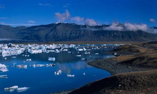 Zdjecie ISLANDIA / Południowa część wyspy / Jokulsarlon / Laguna lodowcowa