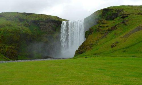 Zdjecie ISLANDIA / brak / Skogafoss / Potęga natury