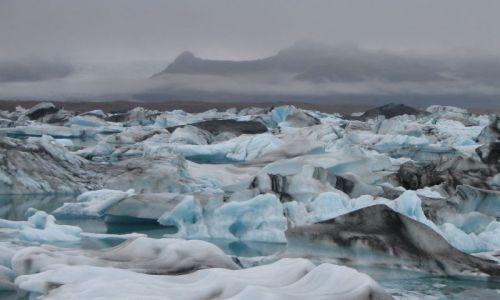 Zdjęcie ISLANDIA / brak / Islandia / Jokulsarlon - jezioro lodowcowe