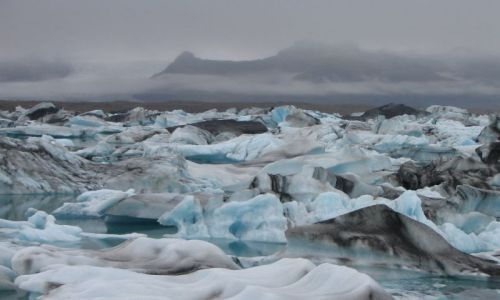 Zdjecie ISLANDIA / brak / Islandia / Jokulsarlon - jezioro lodowcowe
