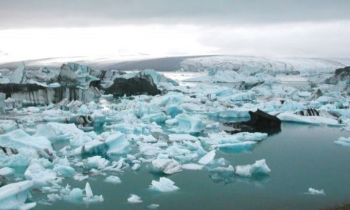 Zdjecie ISLANDIA / Lodowiec Vatnajokull / Jezioro J�kuls�rl�n  / Kraina lodu
