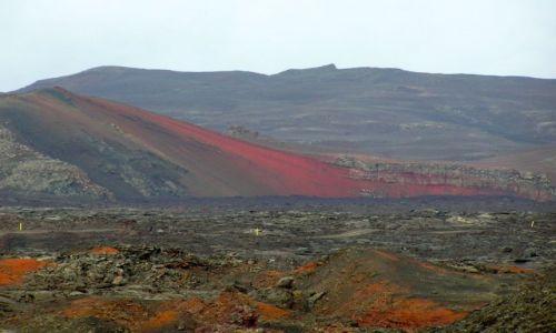 Zdjecie ISLANDIA / brak / interior / gra barw kolorowej wyspy
