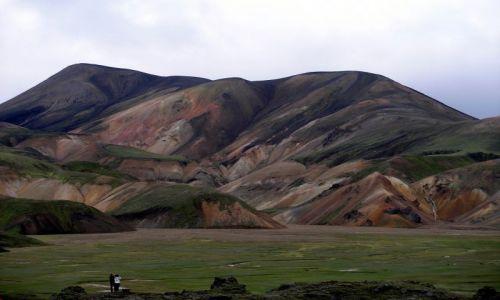 ISLANDIA / poludnie / Landmannalaugar / bajkowa dolina