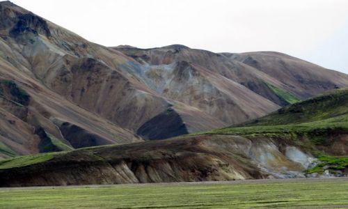 Zdjecie ISLANDIA / poludnie / Landmannalaugar / kolejna  w dolinie