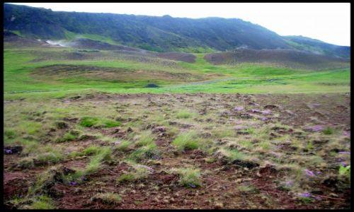 Zdjecie ISLANDIA / Hveragerdi / Hveragerði / Krajobraz islandzki