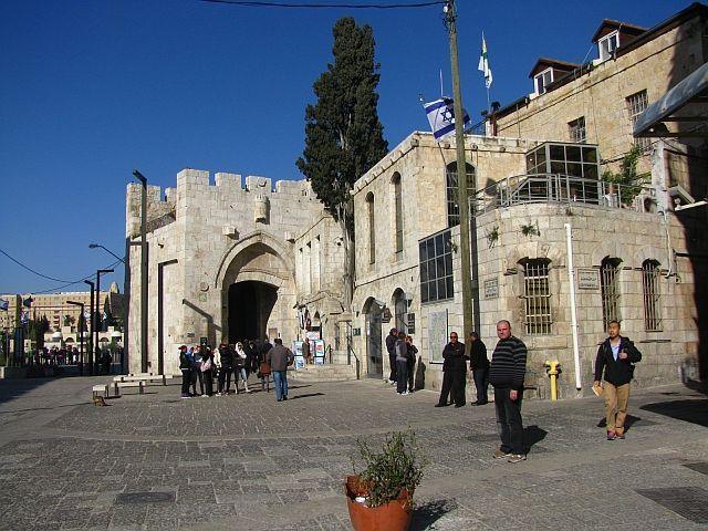 Zdjęcia: Jerozolima, stare miasto, Brama Jaffy, IZRAEL