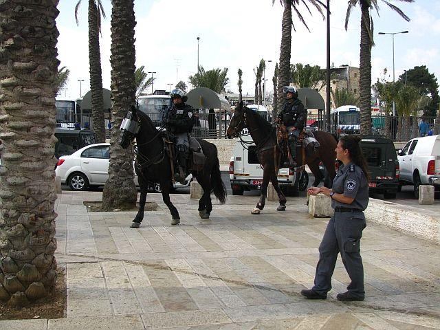 Zdjęcia: Jerozolima, Judea, izraelska policja, IZRAEL