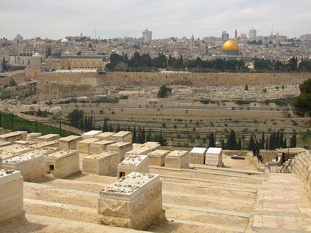 Zdjęcia: Jerozolima, Judea, Cmentarz żydowski, IZRAEL